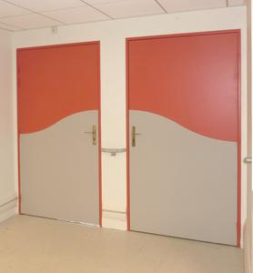 protection des portes. Black Bedroom Furniture Sets. Home Design Ideas